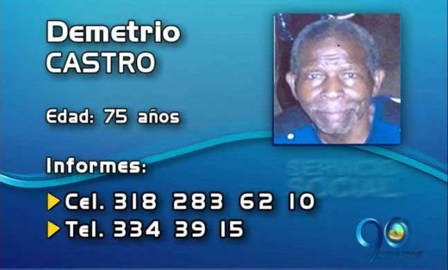 Se busca hombre de 75 años desaparecido el 13 de marzo en Cali