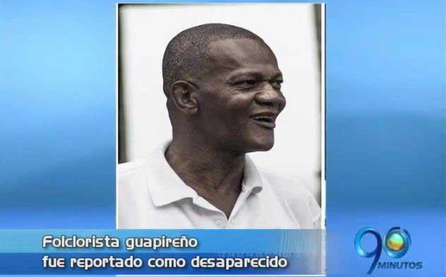 Denuncian desaparición del gestor cultural Samuel Caicedo Portocarrero