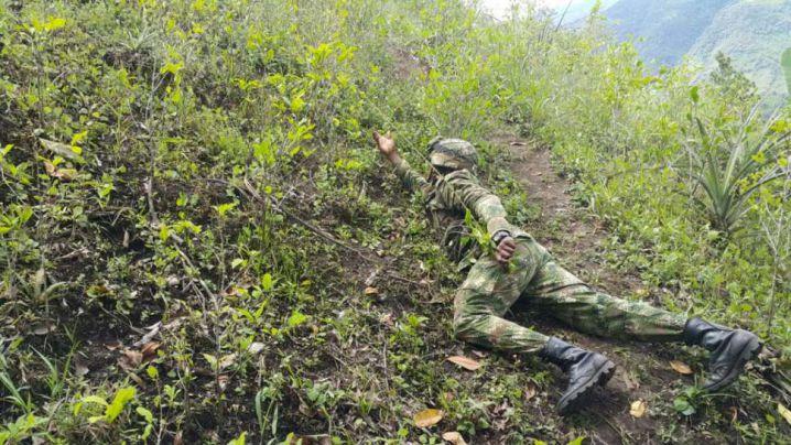 Ejército desactiva dos minas antipersonales en Mallama, Nariño