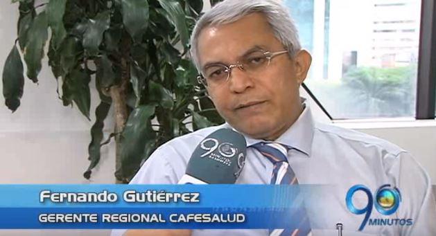 Gerente regional de Cafesalud habla de las críticas de usuarios