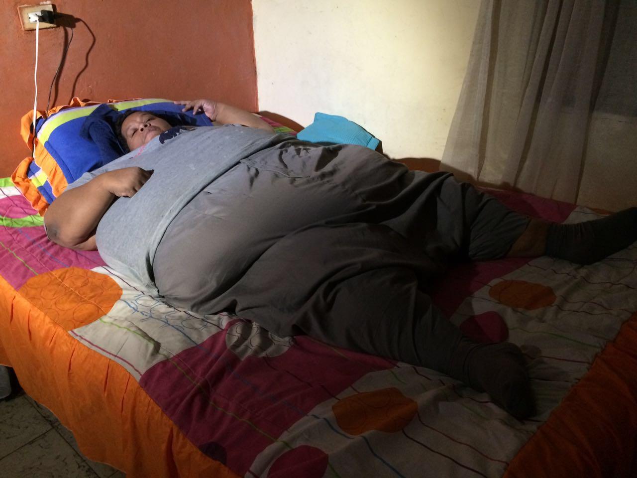 Desde Palmira trasladarán al hombre más obeso de Colombia