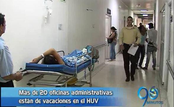 Sindicato del HUV cuestiona vacaciones de personal administrativo