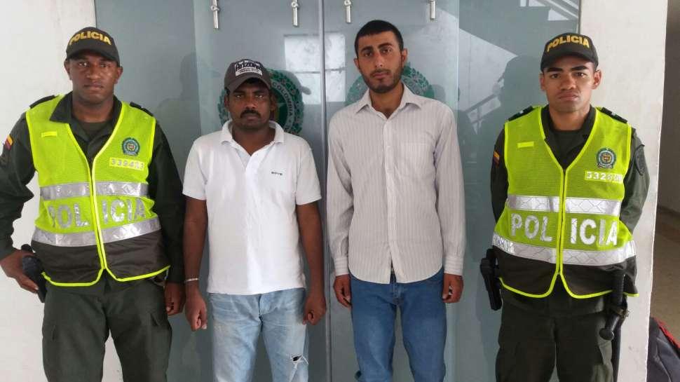 Inmigrantes ilegales de Pakistán e India fueron capturados en Palmira