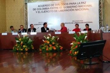 Gobierno y guerrilla del ELN inician proceso de paz
