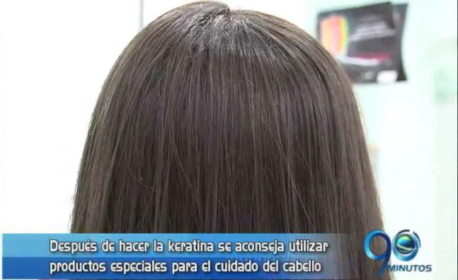 Tratamiento con keratina ayuda a tener el cabello brillante y saludable