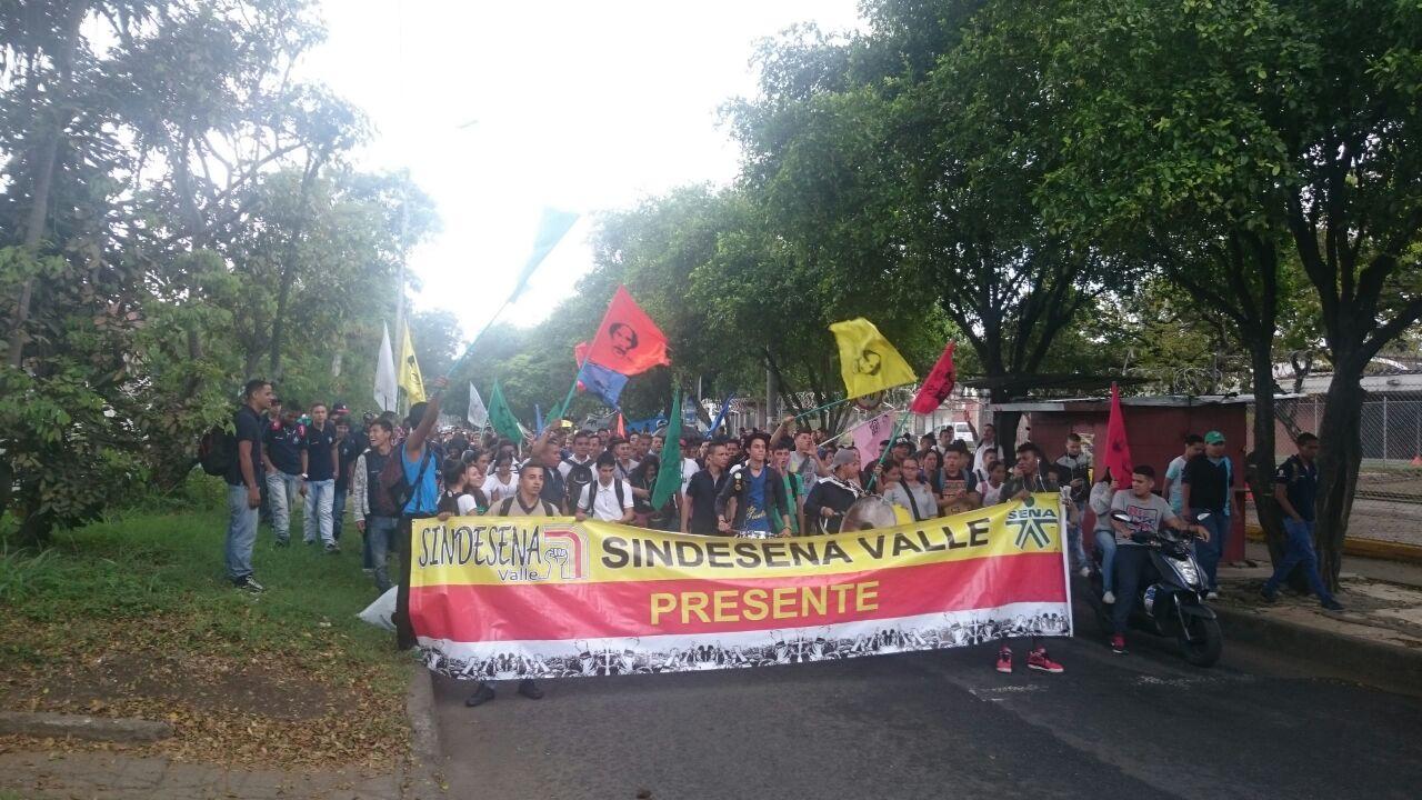 Avanza jornada de Paro Nacional en Colombia