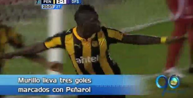 Miguel Murillo comandará ataque de Peñarol ante Nacional por la Libertadores