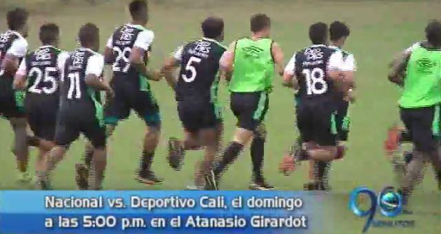 Deportivo Cali enfrentará a Nacional en Medellín el próximo domingo