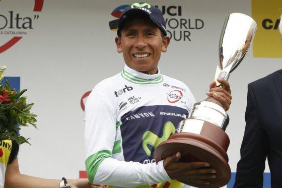 Nairo Quintana, vencedor en la Vuelta a Cataluña