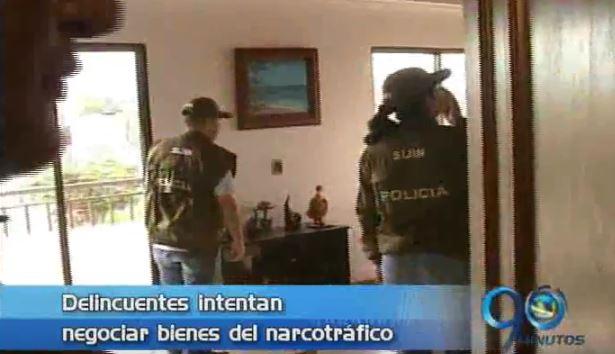 Autoridades alertan sobre venta de inmuebles del narcotráfico