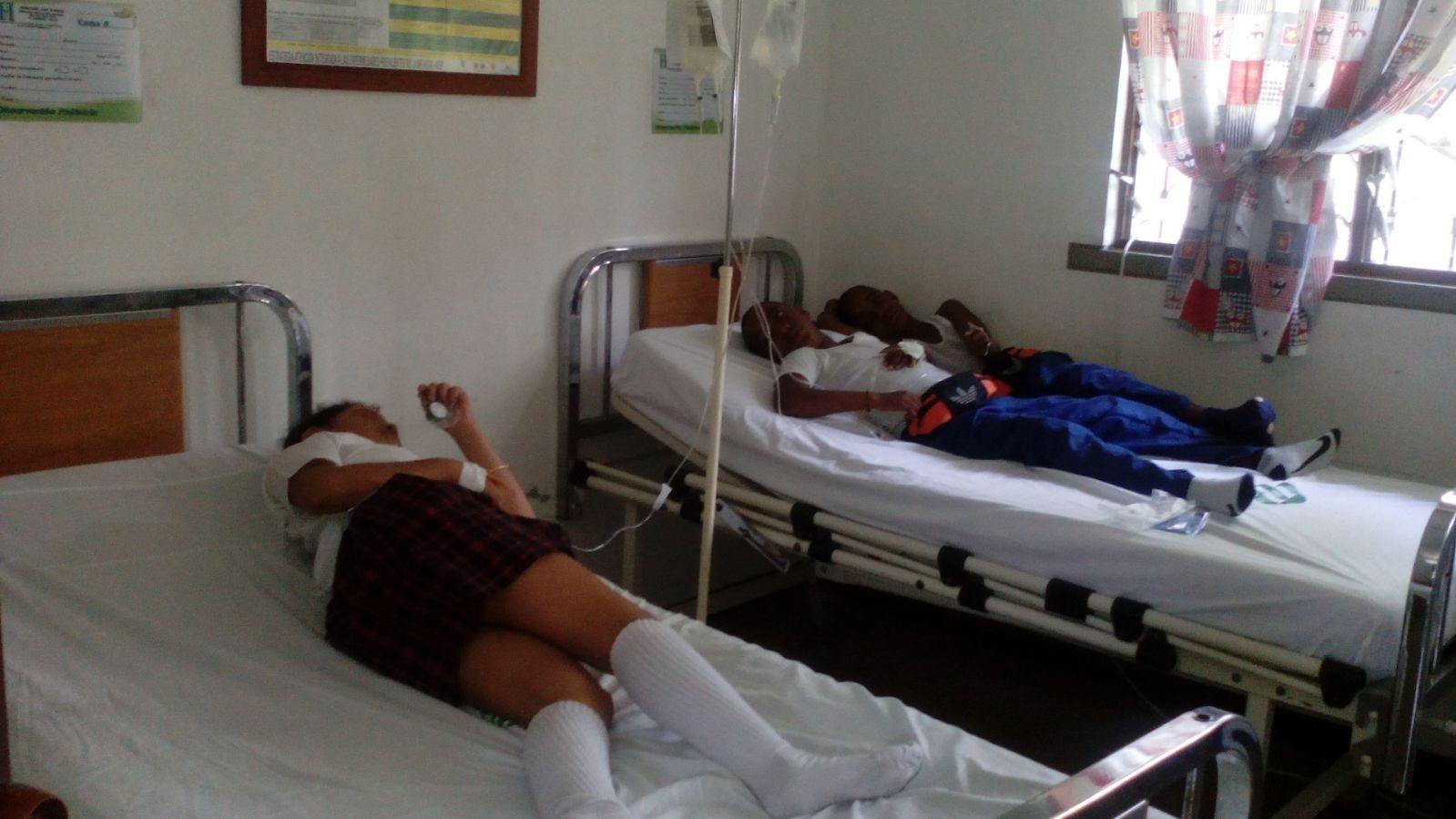 Emergencia por niños intoxicados en dos colegios de El Cerrito