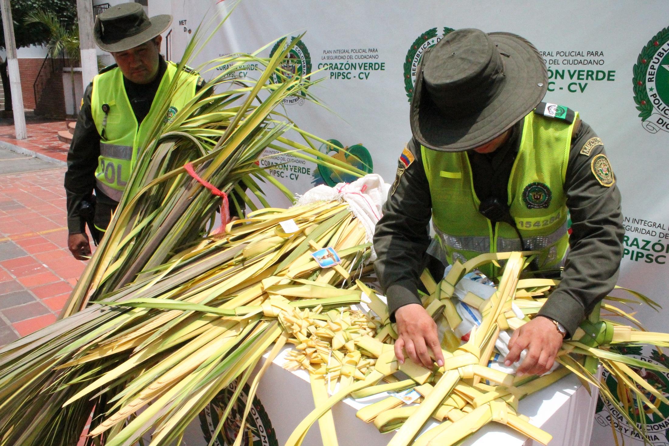 Iniciaron operativos para controlar la venta de ramos de palma de cera en Cali