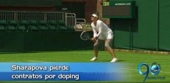 Sharapova pierde contratos por doping y más, en Panorama Deportivo