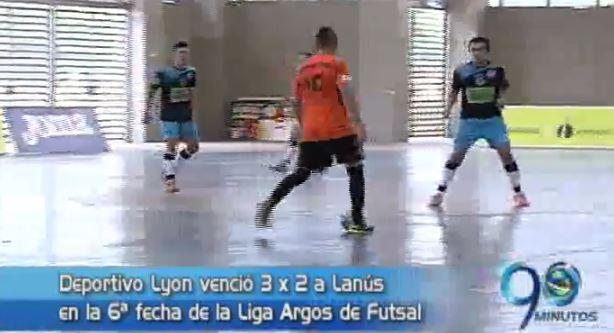 Triunfo de Lyon en Liga Argos de Fútsal y más, en Panorama Deportivo