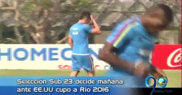 Sub 23 se prepara para Río 2016 y más, en Panorama Deportivo