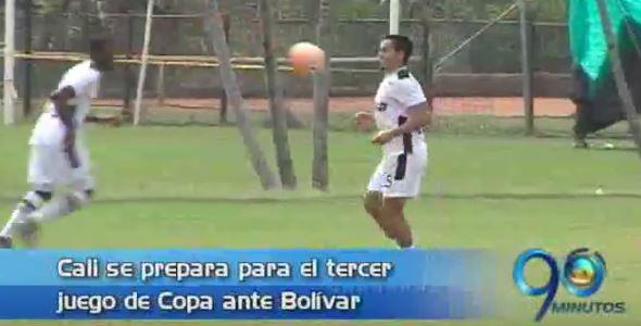 Deportivo Cali se prepara para su partido en La Paz ante Bolívar