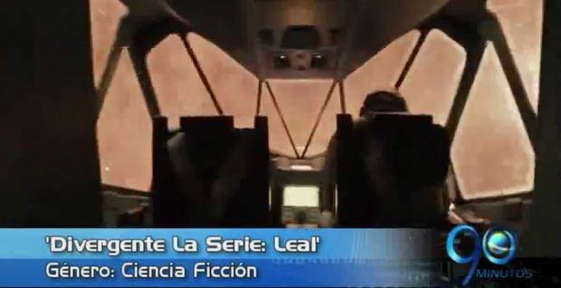 'Divergente La Serie: Leal', la película sugerida de esta semana