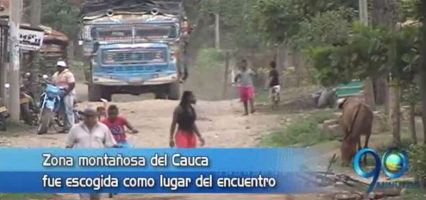 Farc adelantan pedagogía para la paz en norte del Cauca