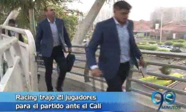 Deportivo Cali se prepara para enfrentar mañana a Racing por Libertadores