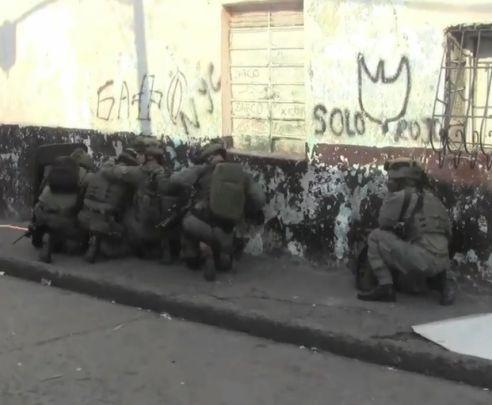 En video: toma de la Dijín en contra del microtráfico en el barrio Sucre