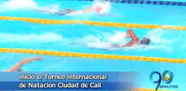 Inició el Torneo Internacional y Nacional de Natación Ciudad de Cali