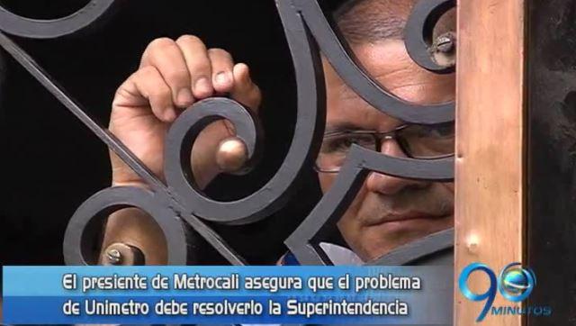 Metrocali asegura que sanción a Unimetro está en manos del Gobierno