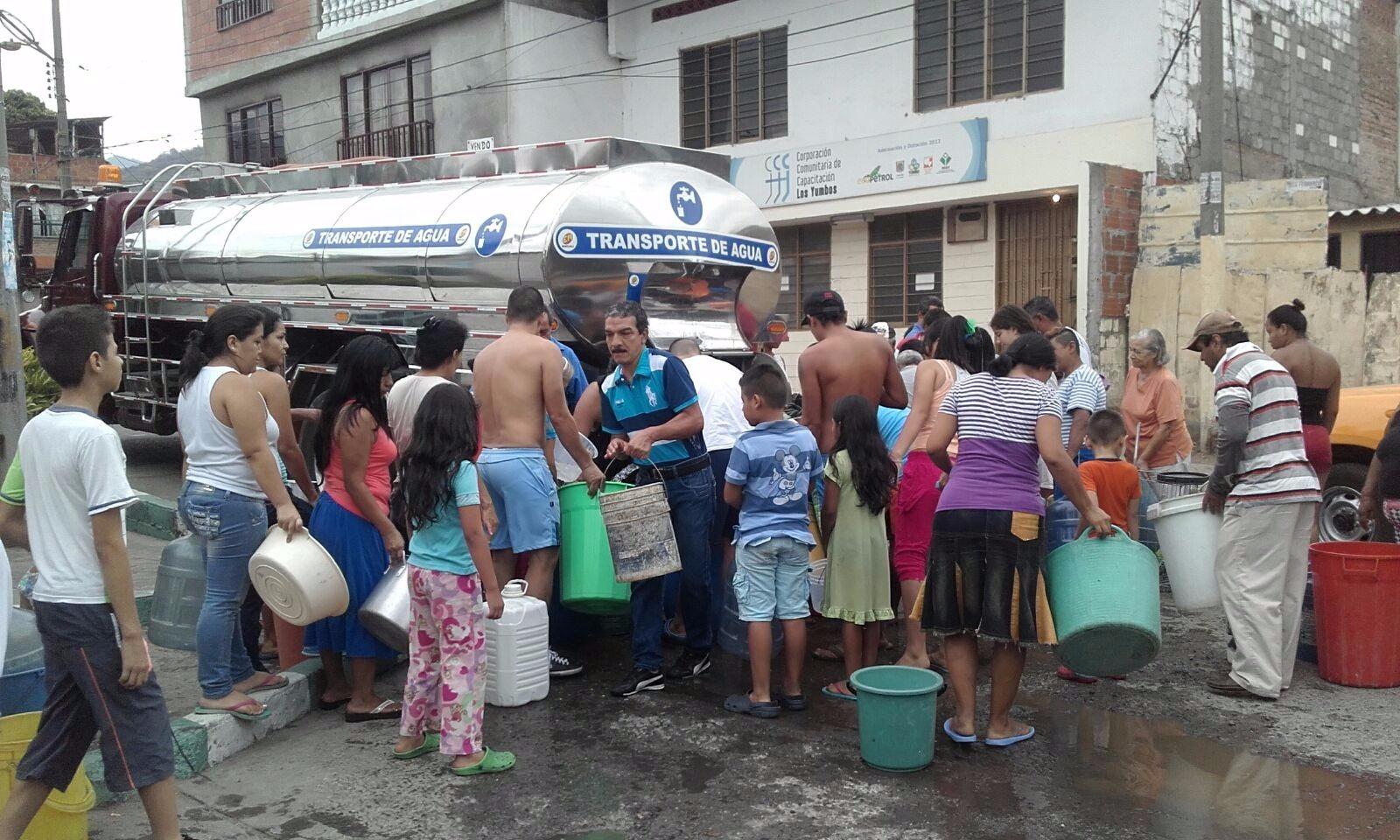 Sigue racionamiento en municipios del Valle pese a las lluvias