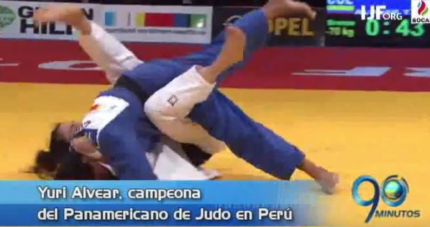 Victoria de Yuri Alvear en Panamericano y más, en Panorama Deportivo