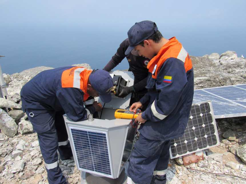La isla de Malpelo cuenta con una nueva tecnología en su faro