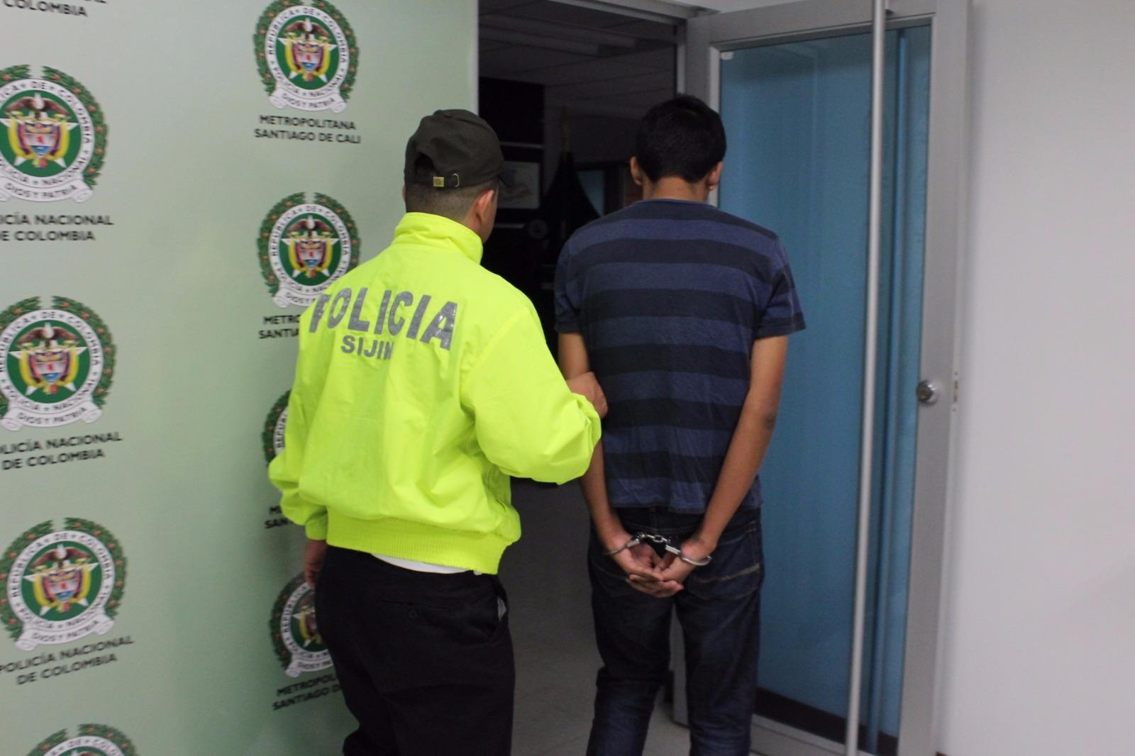 Policía capturó a un hombre por el delito de pornografía con menor de 18 años