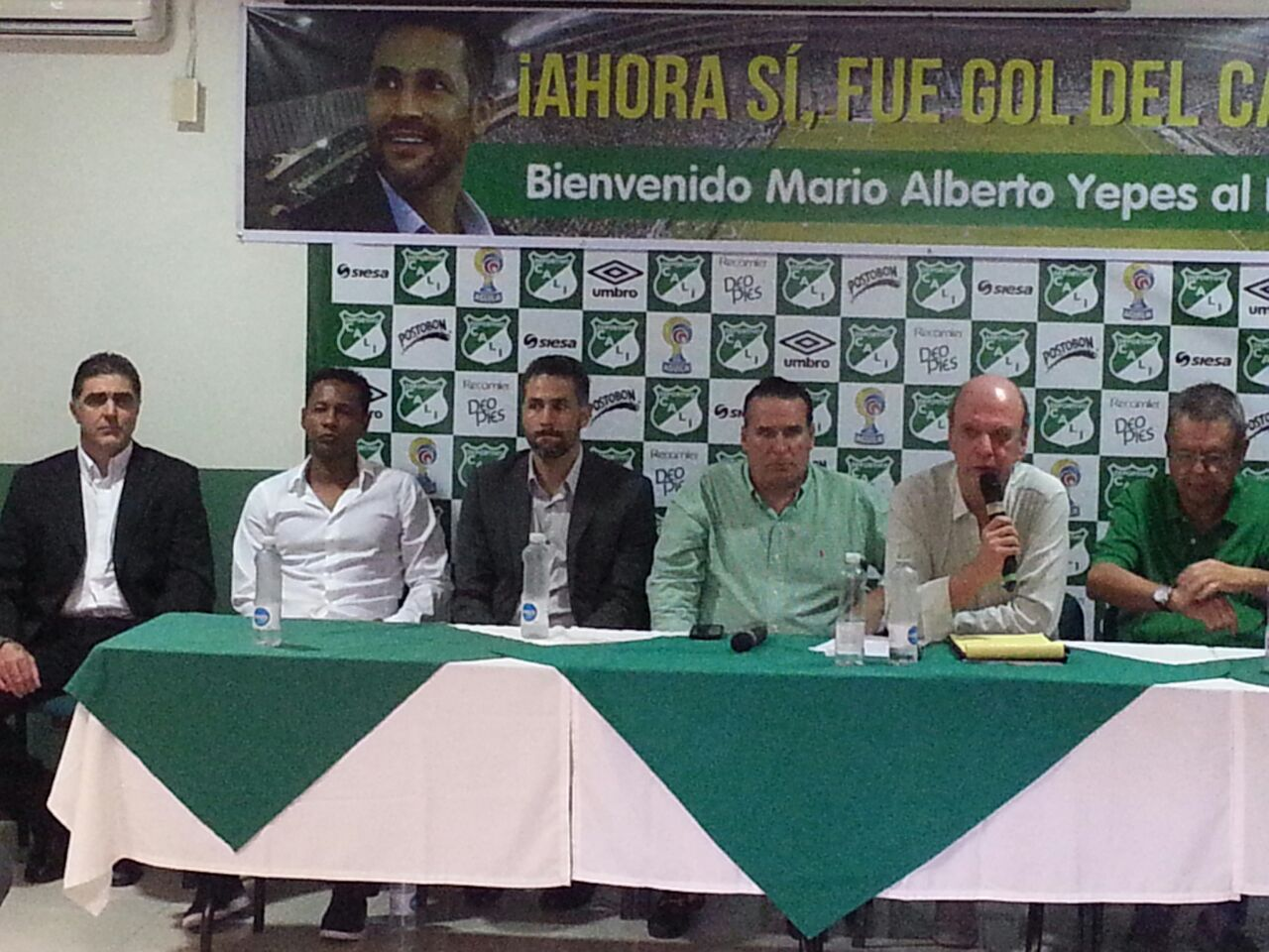 ¡Regresó! Mario Alberto Yepes el el técnico del Deportivo Cali