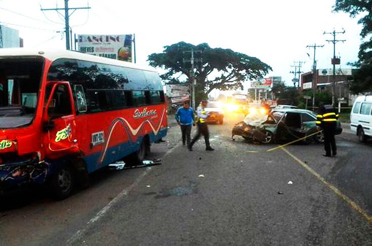 1 muerto y 6 heridos tras accidente en la vía Cali – Candelaria