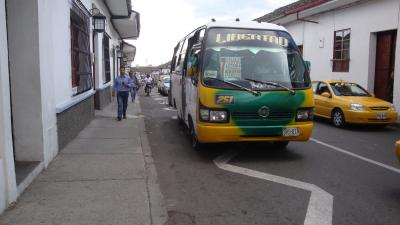Acuerdos permitieron levantar paro de transporte en Popayán