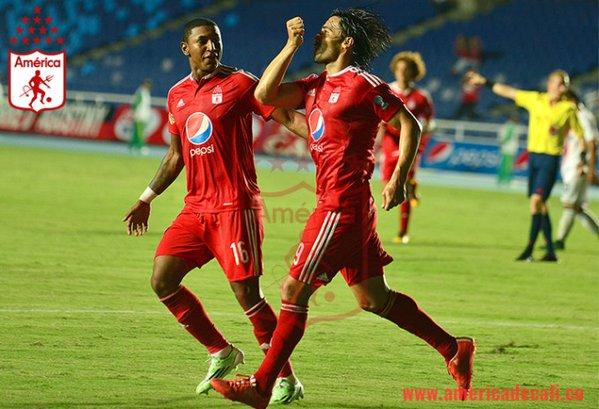 América goleó 4-0 a Atlético en el Pascual y es cuarto en el Torneo