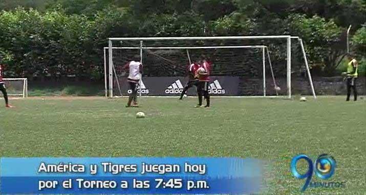 América enfrenta esta noche a Tigres por el torneo de ascenso