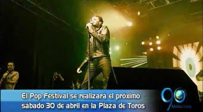 Andrés Cepeda, Santiago Cruz y Mojito Lite: en el Pop Festival