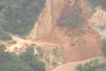 Avalancha en la vía Chocó-Risaralda dejó 9 muertos el pasado sábado