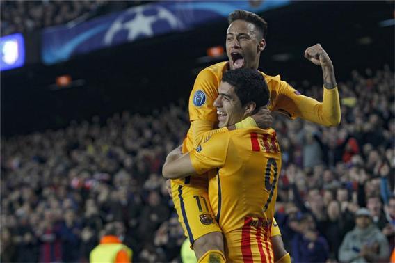 Barcelona pegó primero ante el Atlético de Madrid en Champions