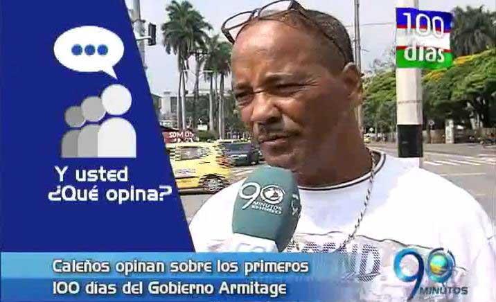 Caleños opinan sobre la gestión del Alcalde Maurice Armitage
