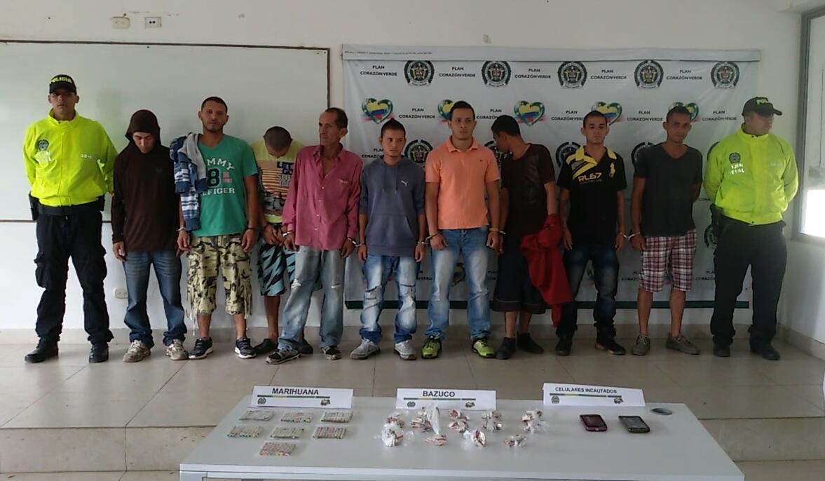 "Policía logra captura de 10 integrantes de banda ""Séptimo Cielo"" en Cartago"