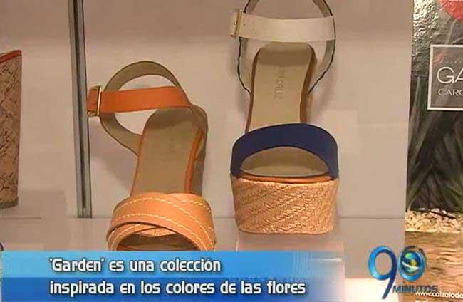Carolina Cruz presentó su más reciente colección de calzado