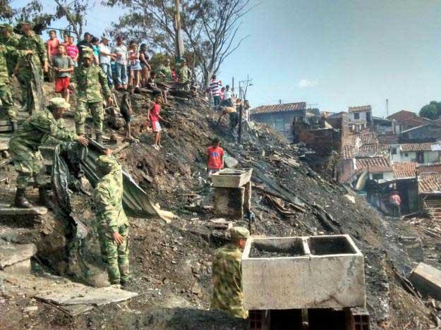 Problemas con el inicio de obras en el barrio que se incendió en Cartago