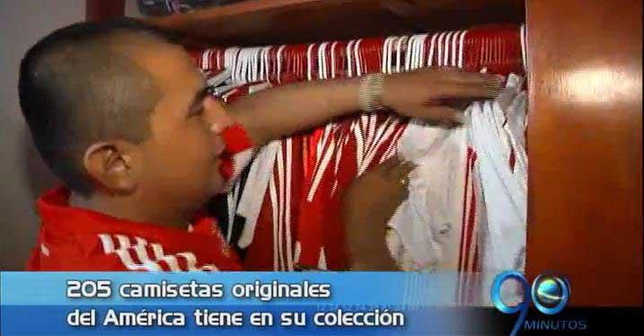 Hincha cucuteño del América comparte su pasión por el equipo rojo