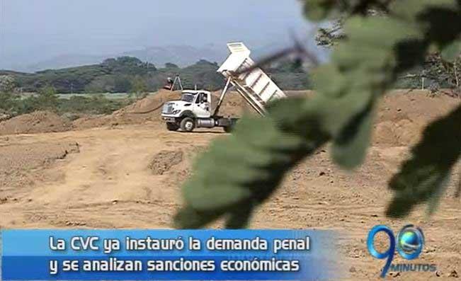 CVC instauró denuncia penal a responsables del daño a la Laguna de Sonso