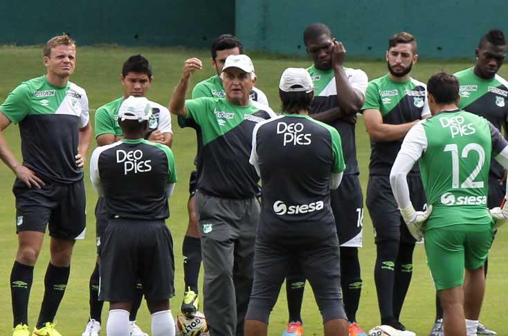 Deportivo Cali realiza últimos entrenos en Buenos Aires para enfrentar al Boca