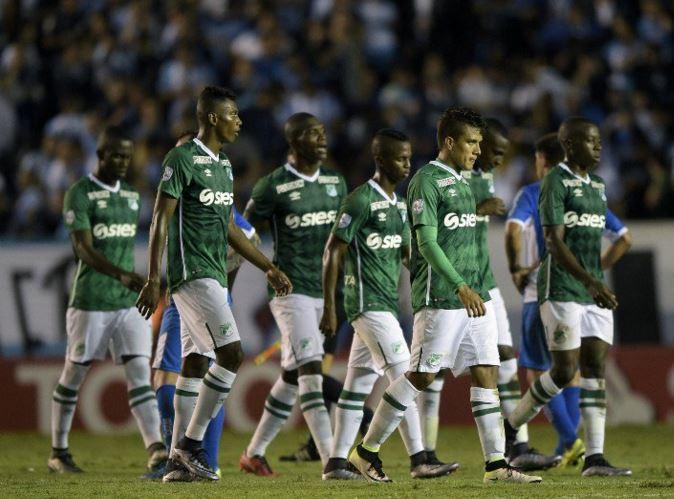 Deportivo Cali cayó 4-2 ante Racing y quedó herido de muerte en la Libertadores