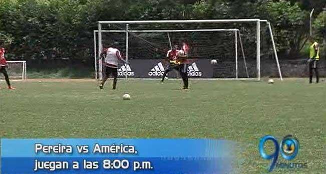 América visita esta noche al Deportivo Pereira