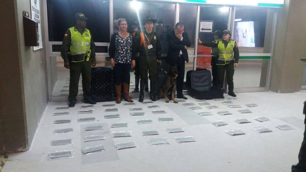 Policía capturó a dos personas que llevarían alucinógenos a Chile