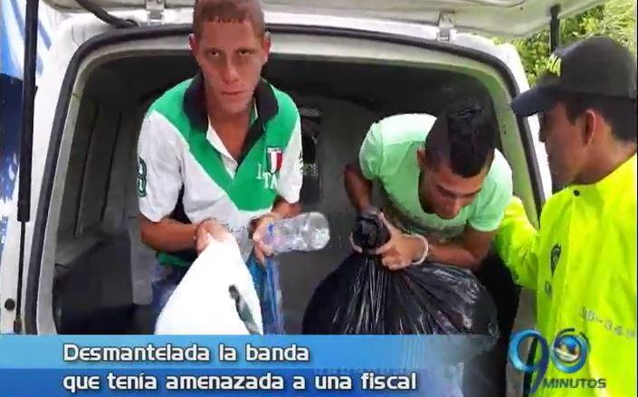 Policía desarticula banda que tenía amenazada a fiscal de Caicedonia, Valle
