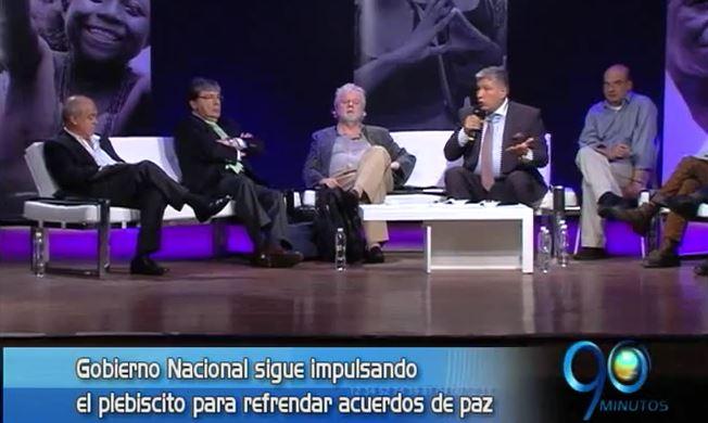 Gobierno apoya acuerdos de justicia transicional en conversatorio de paz
